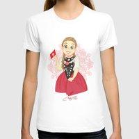 switzerland T-shirts featuring Switzerland by Melissa Ballesteros Parada
