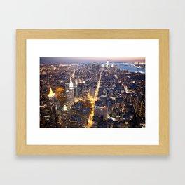 NYC FIRE Framed Art Print