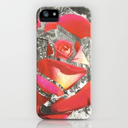 Exploded Rose iPhone Case