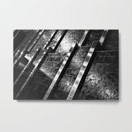 Indoor Water Feature Metal Print