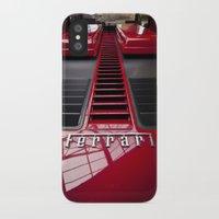 ferrari iPhone & iPod Cases featuring Ferrari behind. by Cozmic Photos