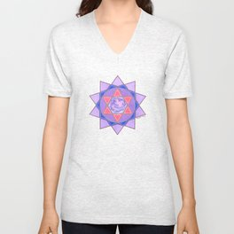 WORKING WITH ANGELS Unisex V-Neck
