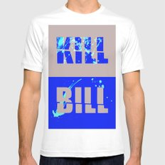 Kill Bill SMALL Mens Fitted Tee White