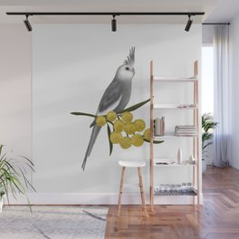 White Faced Cockatiel Wall Mural