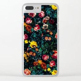 Night Garden XXX Clear iPhone Case
