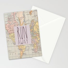 Run Away Stationery Cards