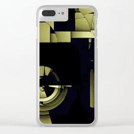 TIME MACHINE Clear iPhone Case