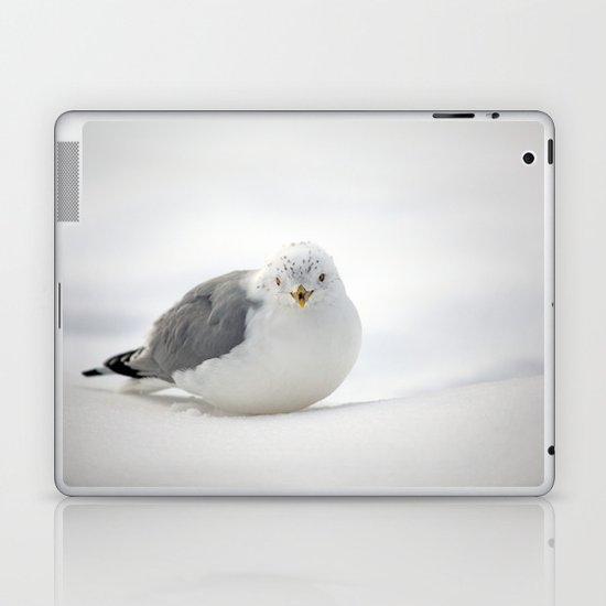 Snow Gull Laptop & iPad Skin
