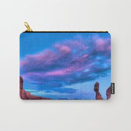 """Balanced Sunset"" Carry-All Pouch"