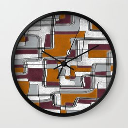 City Traffic Puzzle I Wall Clock
