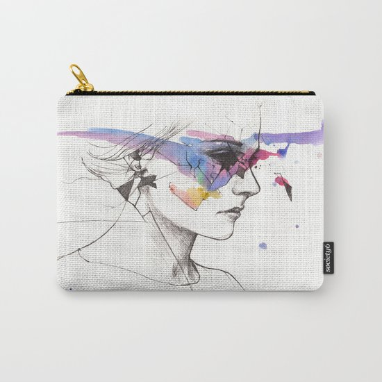 Woman With A New Vision Carry-All Pouch