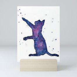 Galactic Cat Mini Art Print