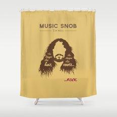 The Longer the Hair — Music Snob Tip #073 Shower Curtain