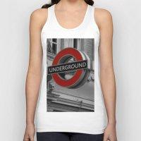 velvet underground Tank Tops featuring Underground by itsthezoe