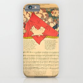 la chanson du 1er juin g vintage Poster iPhone Case