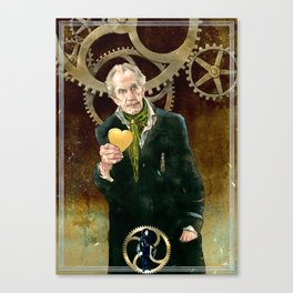 The Inventor Canvas Print