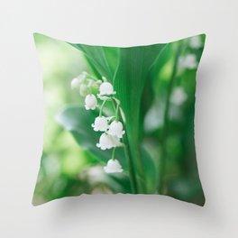 Spring Days Throw Pillow