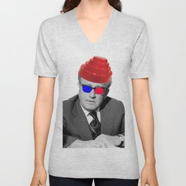 3D Kissinger Devolution Helmet Unisex V-Neck