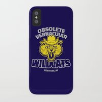 royal tenenbaums iPhone & iPod Cases featuring Obsolete Vernacular Wildcats (Royal Tenenbaums) by Tabner's