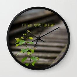 Narute's comeback Wall Clock