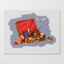 Magic Suitcase Canvas Print