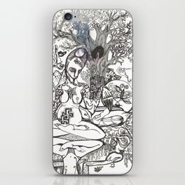 Bison Yogini ~ Fertility iPhone Skin
