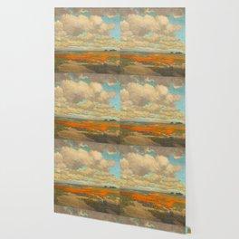 1911 Granville Redmond - A Field of California Poppies Wallpaper