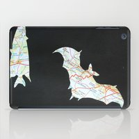 bats iPad Cases featuring Bats by the Fox and the Hare