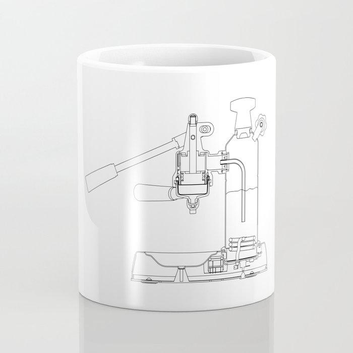 La Pavoni Lever Espresso Machine Coffee Mug