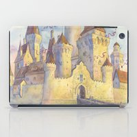 castle iPad Cases featuring Castle by Kasheva