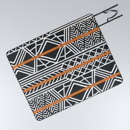 Tribal ethnic geometric pattern 022 Picnic Blanket