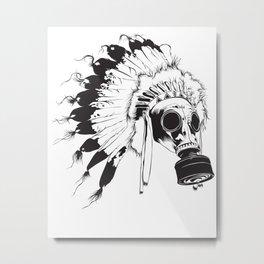GasMax Chieftain Metal Print