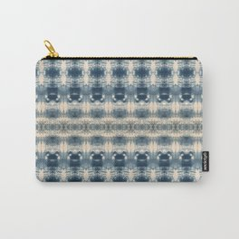Two Tone Shibori Carry-All Pouch