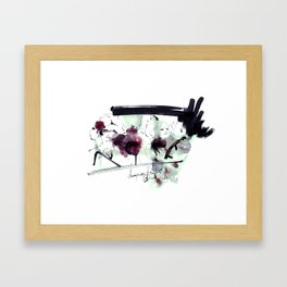 no title Framed Art Print
