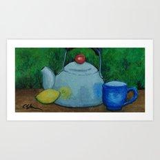 Afternoon Tea mm160320b Art Print