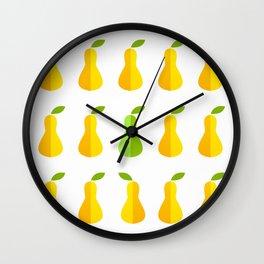 Pears icon Wall Clock