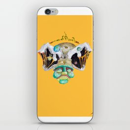 Meditate (mellow yellow) iPhone Skin