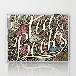 Rain, Tea & Books - Color version Laptop & iPad Skin