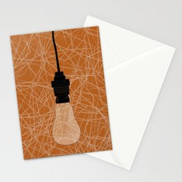 Love me lights out Stationery Cards