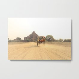 Bagan Temples | Myanmar  Metal Print