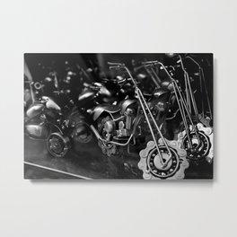"""Motorcyles XS"" Metal Print"