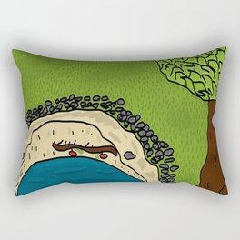 Game changer Rectangular Pillow