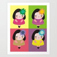 Luci Art Print