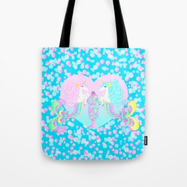 Mermicorn Twins Candy and Bubbles Tote Bag