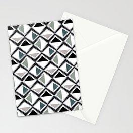 Gray Asymmetry Stationery Cards