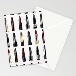 In love with lipsticks Stationery Cards