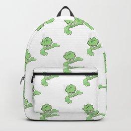 Multi Smiley broccoli Backpack