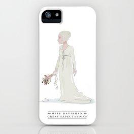 Miss Havisham iPhone Case