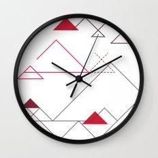 Tree-Angle Wall Clock