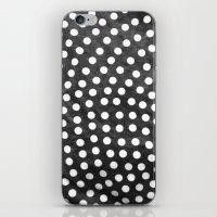 polka iPhone & iPod Skins featuring Polka by kirstenariel